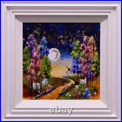 Rozanne Bell The Long Walk Home (16 x 16) (Original Framed) In Stock