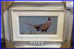 Ruby Keller Pleaseant (Pheasant) (Original Framed) In Stock