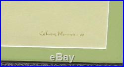 SERVANDO CABRERA MORENO, Listed Cuban Master, Countryman in a Hat, Mixed Media