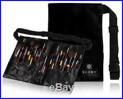 SHANY Cosmetics Professional Vinyl Makeup Apron with Artist Brush Belt Light Wei