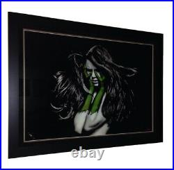 SNIK What Your Soul Songs (Green) Print Professionally Framed