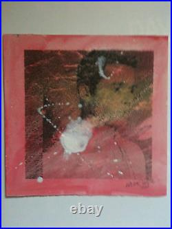 STUART SEMPLE,'BOY KRUSH' signed unique artwork, 2013