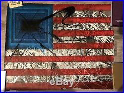 Saber HPM Rebels Flag Mixed Media Print
