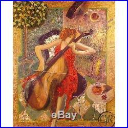 Sabzi Sonata Giclee On Canvas