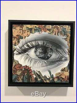 Sandra Chevrier Original Painting Mixed Media NOT A PRINT 100% unique