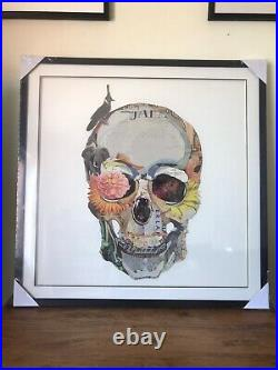 Skull Collage Picture EXTRA LARGE. NEW! Home Decor Cool Art Man cave Bar
