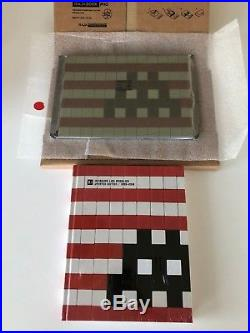 Space Invader IK #18 Into the white cube and LA Book Garey the Third