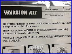 Space invader invasion kit 14 3D vision, ed. Of 200, rare original, signed