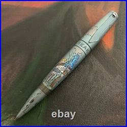 Streltsov Art Mixed Media Custom Titanium Pen IcebreakerAlice in Wonderland