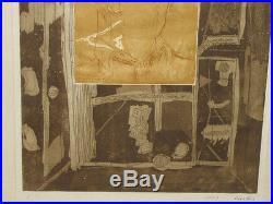 TONY CURTIS Original Mixed Media Box 18x23 1970 Butler Museum