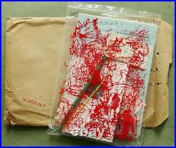 Ta' BOX nr. 1, 1969 Pedersen, Per Kirkeby, Sørensen bag with Fluxus Nord items