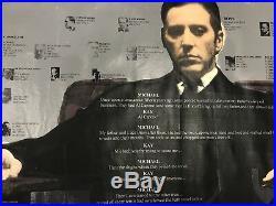 The Godfather by Steve Kaufman 40x40 SAK Al Pacino