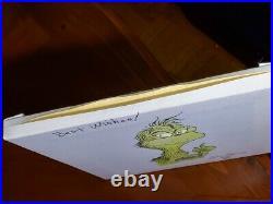 The Grinch Genuine Original Dr. Seuss signed artwork