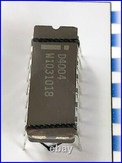 The Intel 4004 The World's First Microprocessor D4004 with 4004 Chip Die