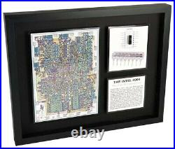 The Intel 4004 The World's First Microprocessor (P4004, Artwork, Computer Chip)