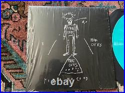 The OFFS 35th Anniversary Vinyl Album Jean-Michel Basquiat AQUA BLUE LTD RARE