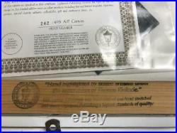 Thomas Kinkade Morning Dogwood Signed & Numbered Canvas 12 x 18 AP Edition
