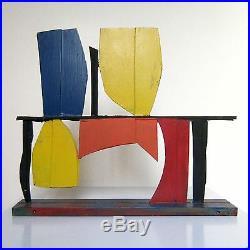 Tony Rosenthal Color Study Painted Steel Unique Table Top Sculpture JKLFA. Com