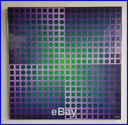 Vasarely Planetary Folklore Participations No 2 -multiple 800 pieces of plastic