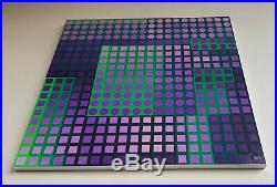 Vasarely Planetary Folklore Participations -multiple 800 pieces of plastic