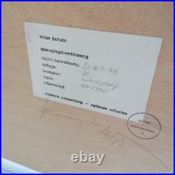 Victor Bonato Glasspiegelverformung handsigniert betitelt datiert