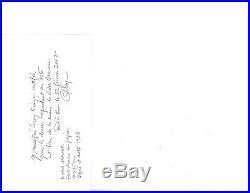 Victor Brauner Original drawing 1928 Nue Aloogee