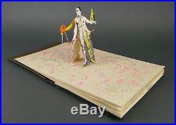 Vintage 1980s HOWARD MUNSON Six Bodyworks Mixed Media Pop Up Book Outsider Art