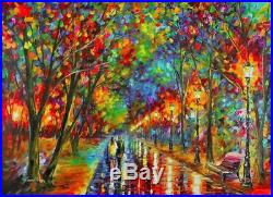 WHEN DREAMS COME TRUE by Leonid AFREMOV LIMITED EDITION HAND EMBELLISHED 30x40