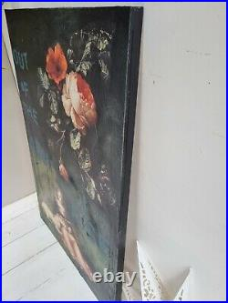 Wall Art upcycled coffee table panel painting portrait FUNKY poster