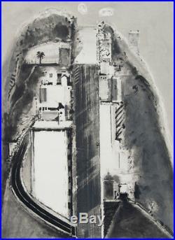 Wayne Thiebaud Steep Street 30/30 1989