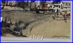 William Selwyn, Signed Original, Framed Welsh Art, Porthdinllaen