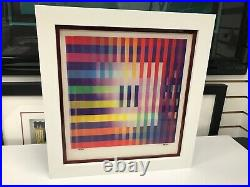 Yaacov Agam Agamograph Out of Black Hole Signed & Numbered Limited Edition