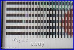 Yaacov Agam Agamograph Vertical Line Geometry, Rare AP & Fine