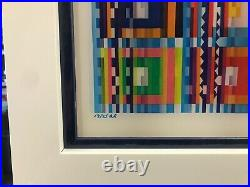 Yaacov Agam Memories Agamograph Signed & Numbered Limited Edition Framed
